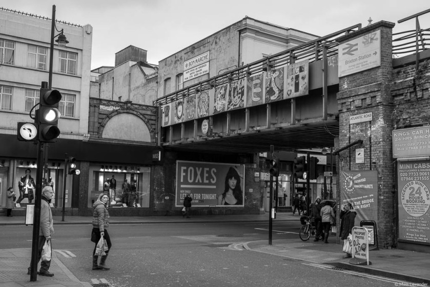 Foxes in Brixton by Mats Levander